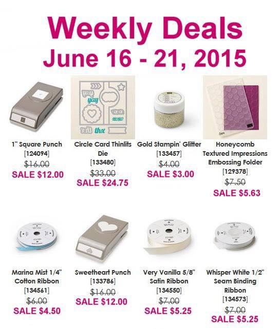 Weekly Deals 6.16