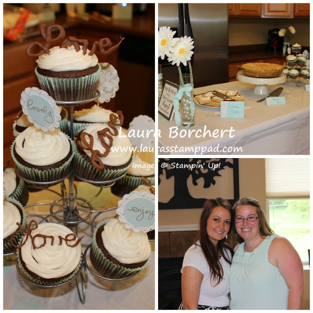 Bridal Shower Decorations, www.LaurasStampPad.com