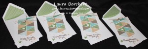 Green Cards, www.LaurasStampPad.com
