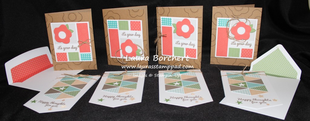 June Paper Pumpkin Cards