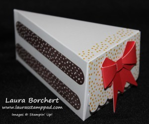 Paper Cake Slice, www.LaurasStampPad.com