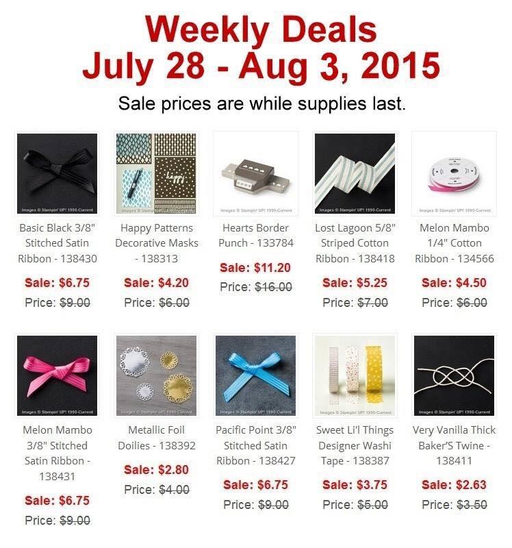 Weekly Deals 7.28