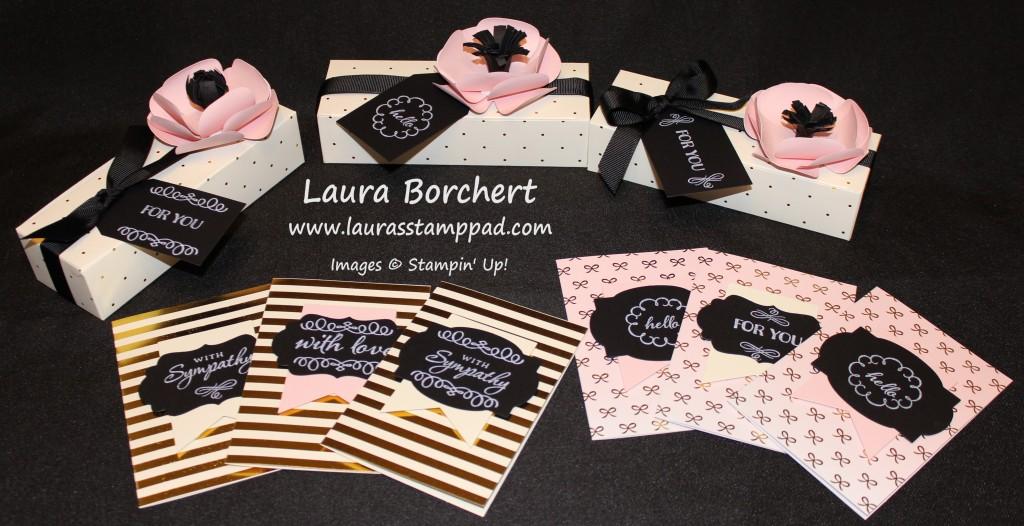 August Paper Pumpkin, www.LaurasStampPad.com