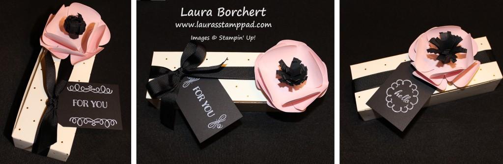 Gold & Vanilla Gift Box, www.LaurasStampPad.com
