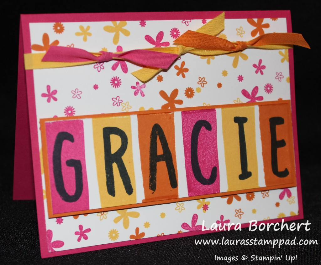 Gracie Flower Background, www.LaurasStampPad.com