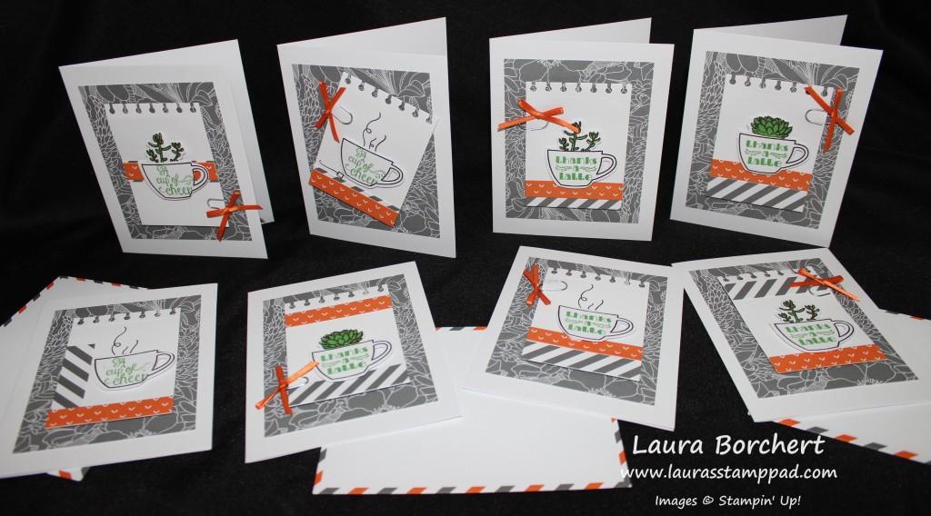 July Paper Pumpkin 2015, www.LaurasStampPad.com
