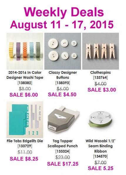 Weekly Deals 8.11