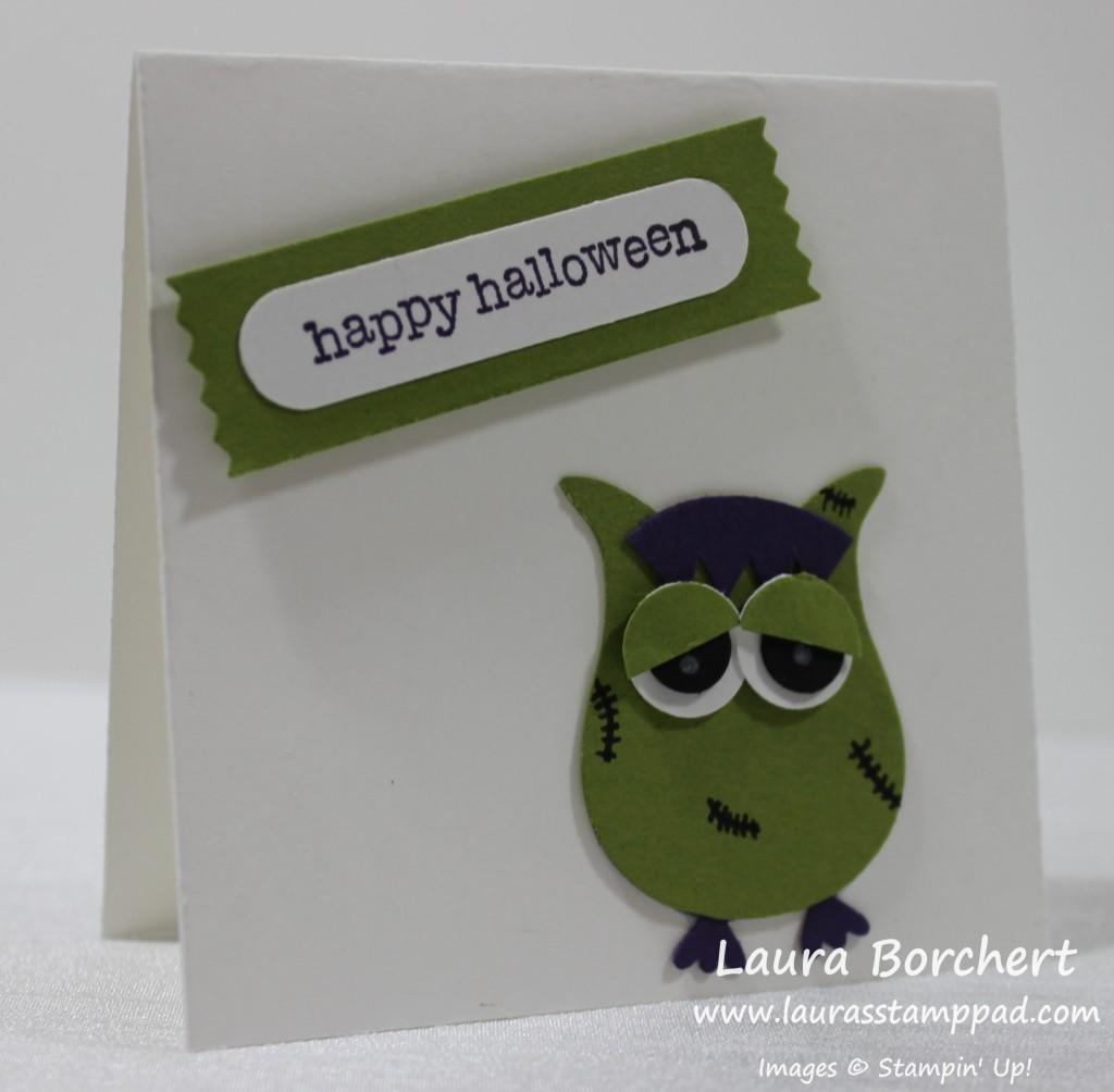 Frankenstein, www.LaurasStampPad.com