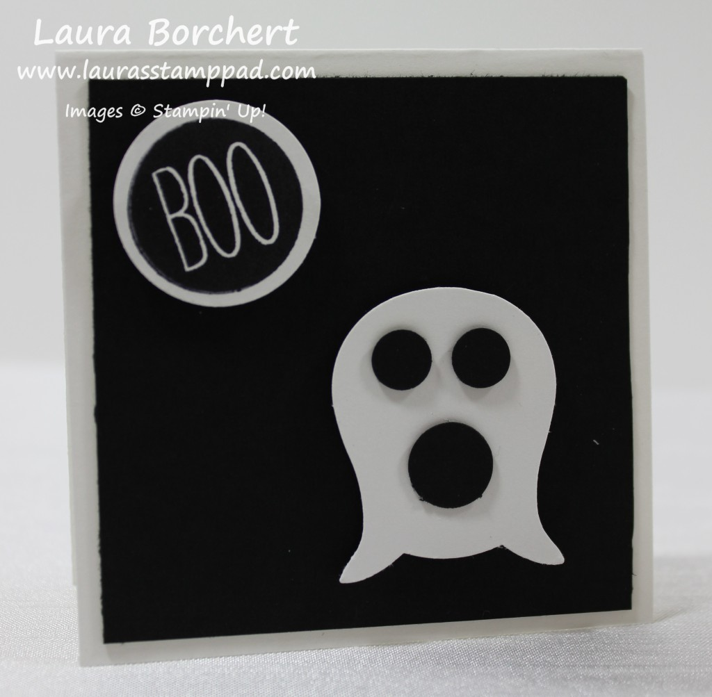 Ghost Punch Art, www.LaurasStampPad.com