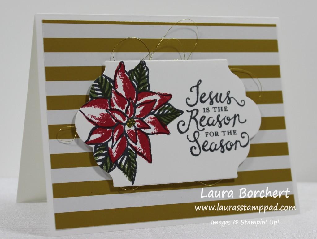 Gold Stripes & Thread, www.LaurasStampPad.com