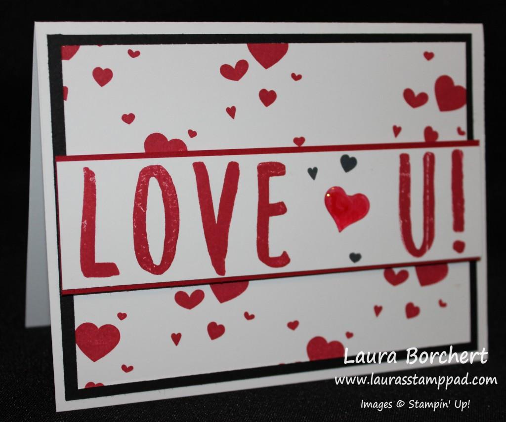 Love U, www.LaurasStampPad.com
