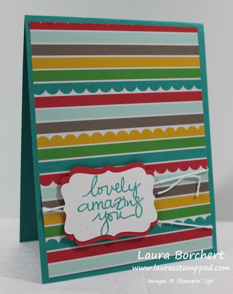 Simple Cherry on Top Card, www.LaurasStampPad.com