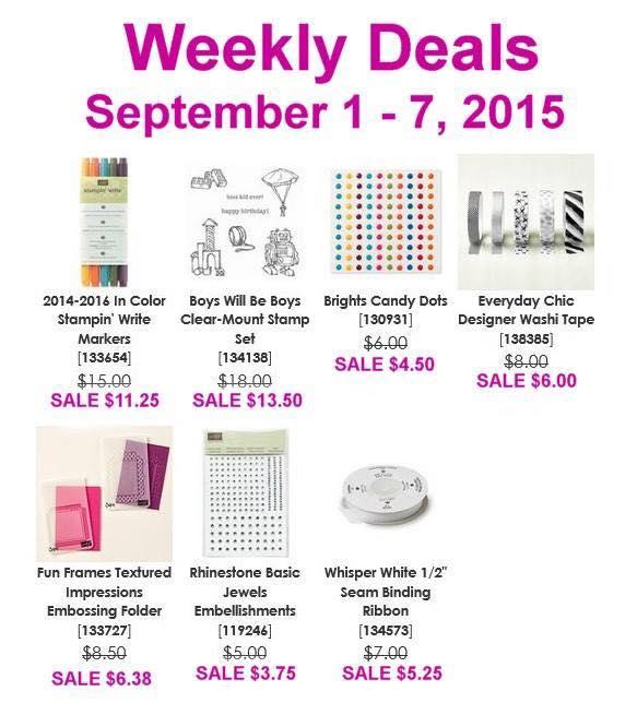 Weekly Deals 9.1