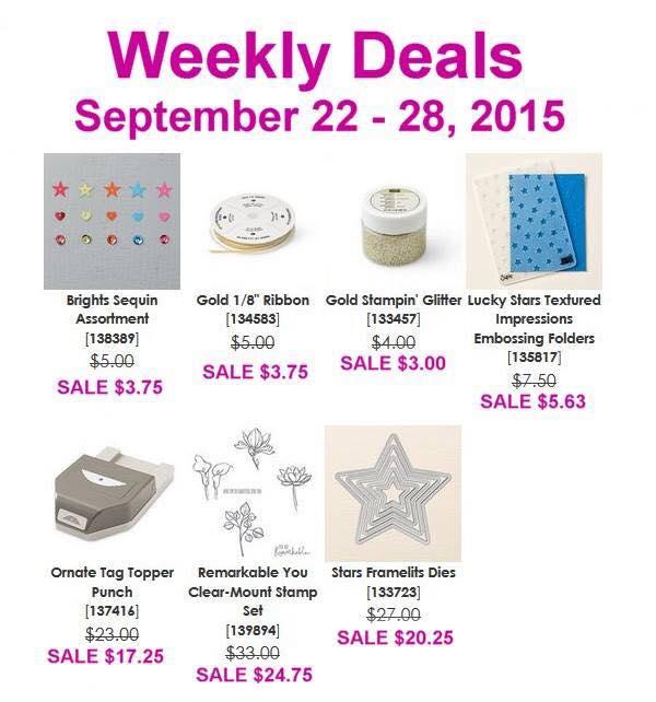 Weekly Deals 9.22