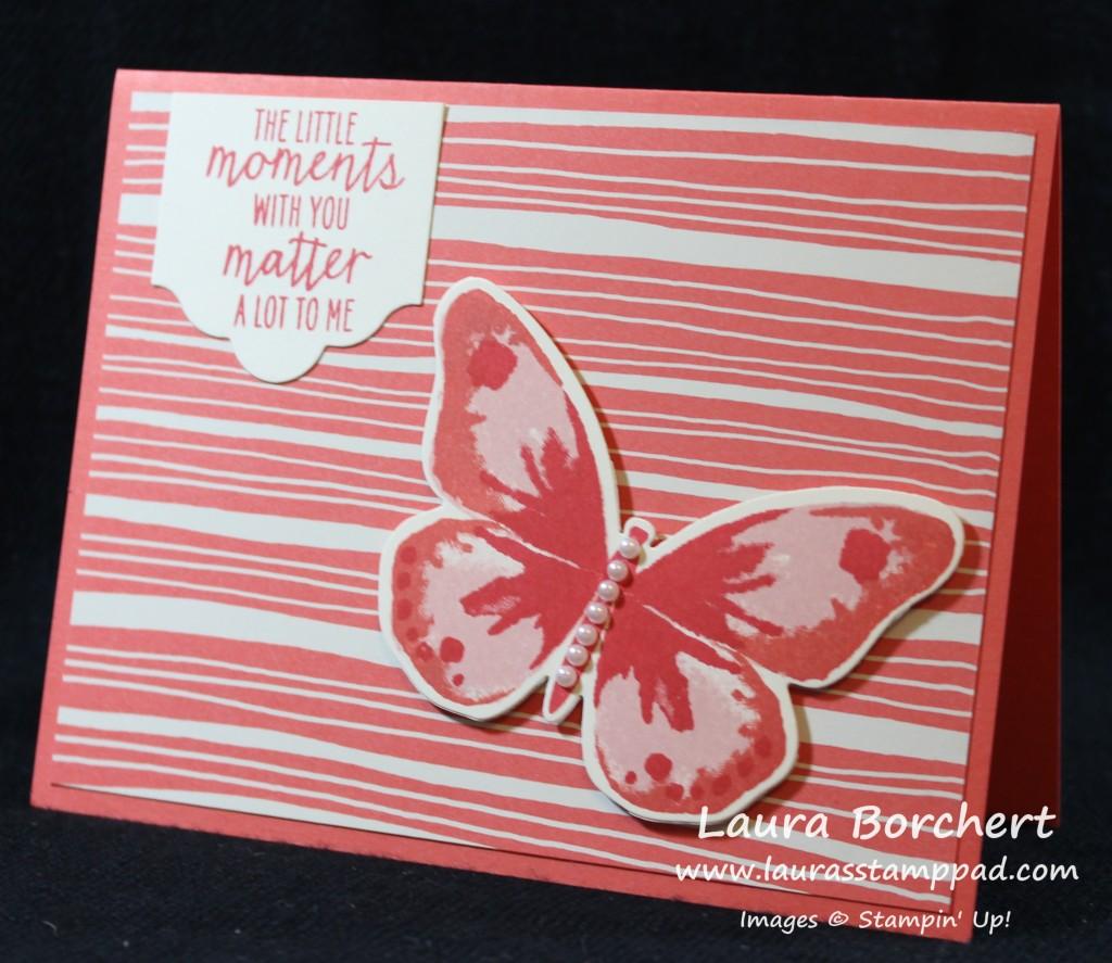 Butterfly Moment, www.LaurasStampPad.com