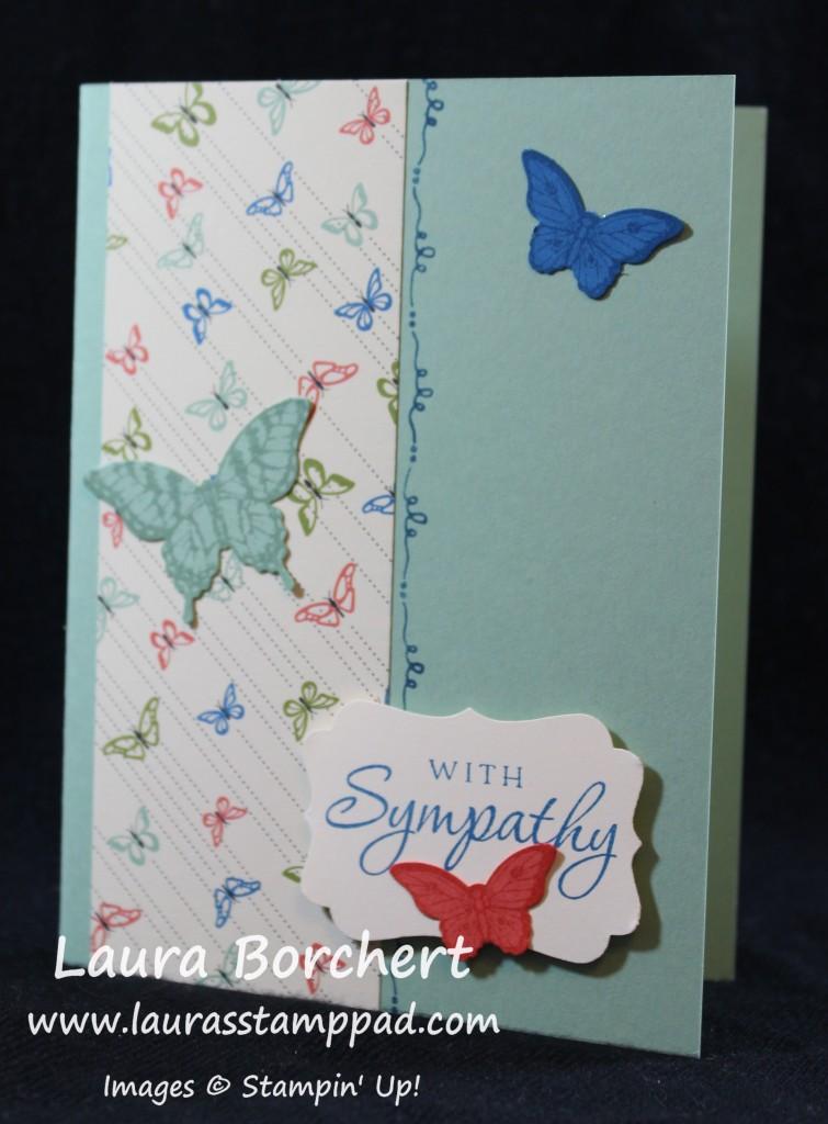 Sympathy Card, www.LaurasStampPad.com