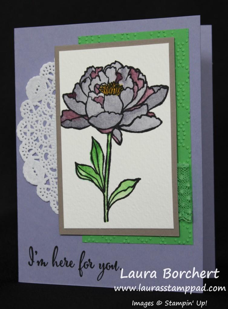 Flower Texture Layers, www.LaurasStampPad.com
