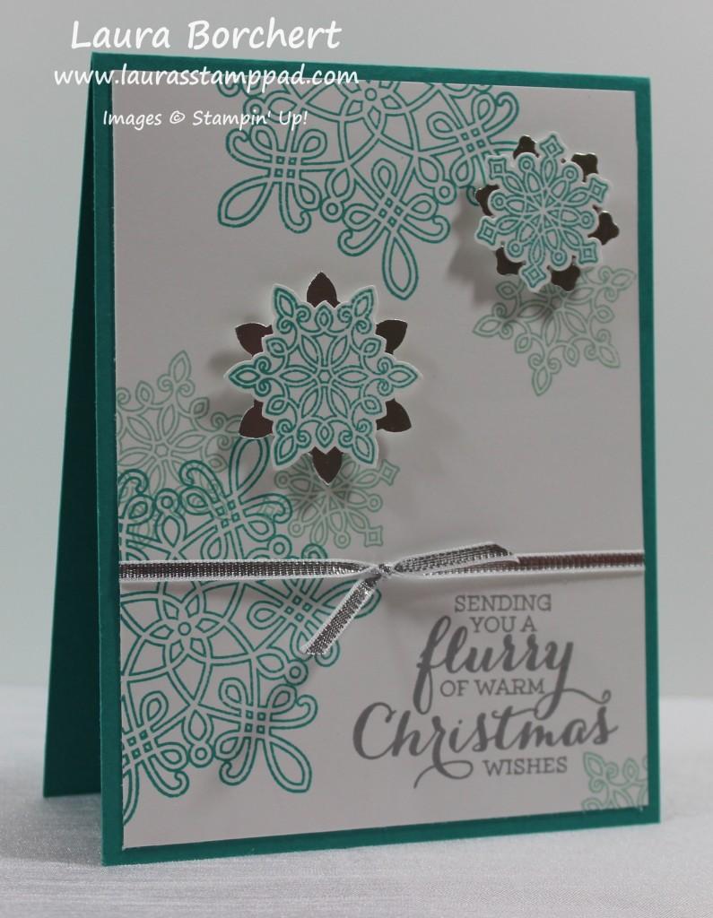 Flurry Christmas, www.LaurasStampPad.com