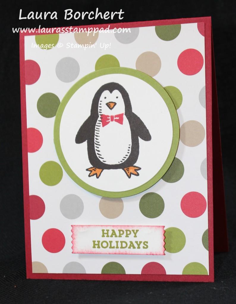 Penguin, www.LaurasStampPad.com