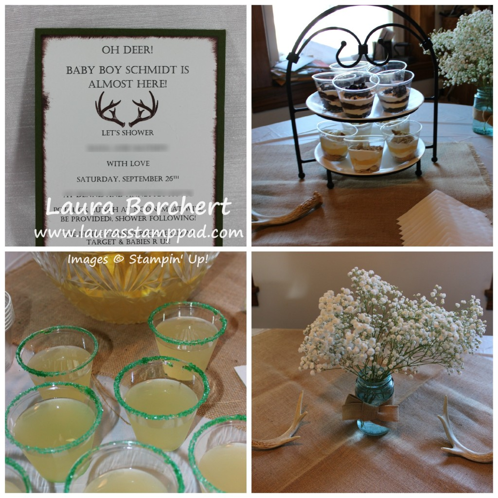Baby Shower, www.LaurasStampPad.com