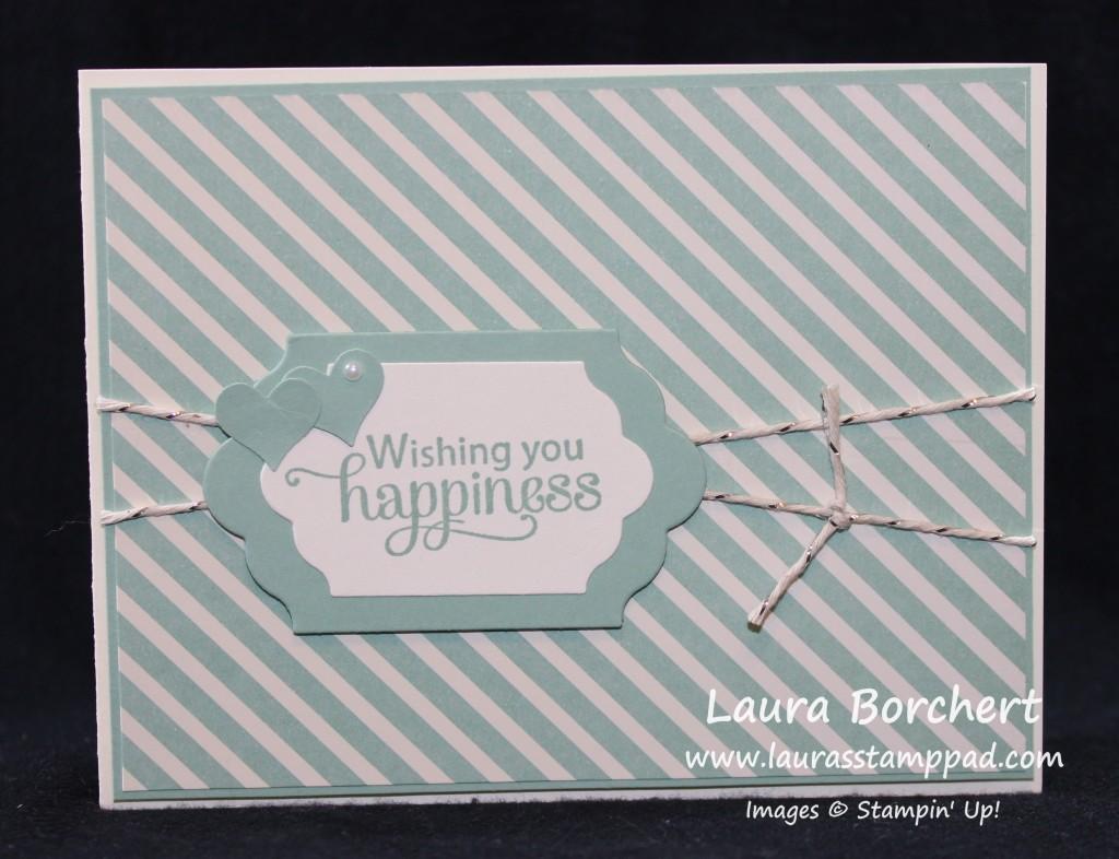 Anniversary Card, www.LaurasStampPad.com