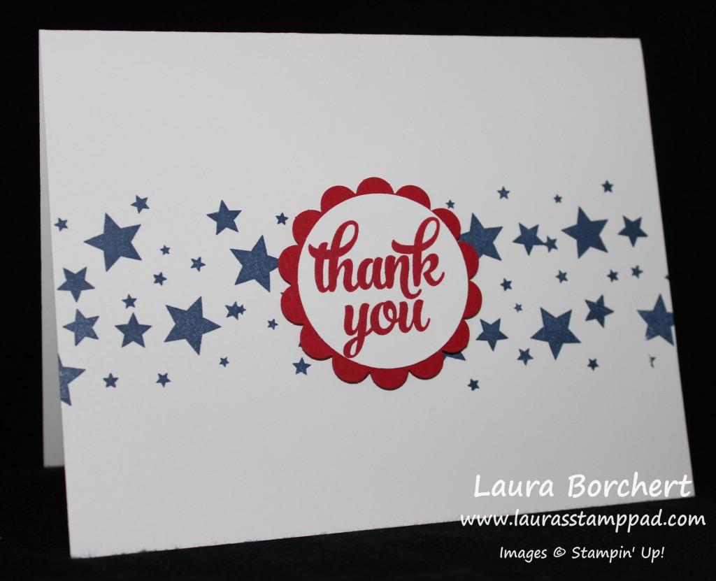 Stars Across America, www.LaurasStampPad.com