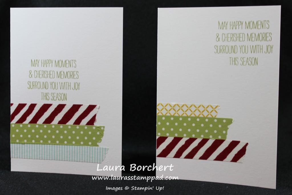 Affordable Washi Tape Cards, www.LaurasStampPad.com