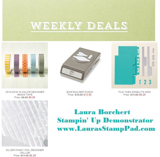 Weekly Deals 10.20