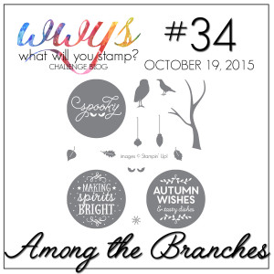 wwys_34_Among the Branches, www.LaurasStampPad.com