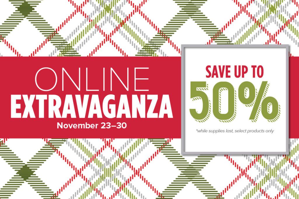 online extravaganza, www.LaurasStampPad.com