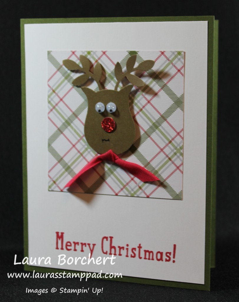 Rudolph The Red Nosed Reindeer, www.LaurasStampPad.com