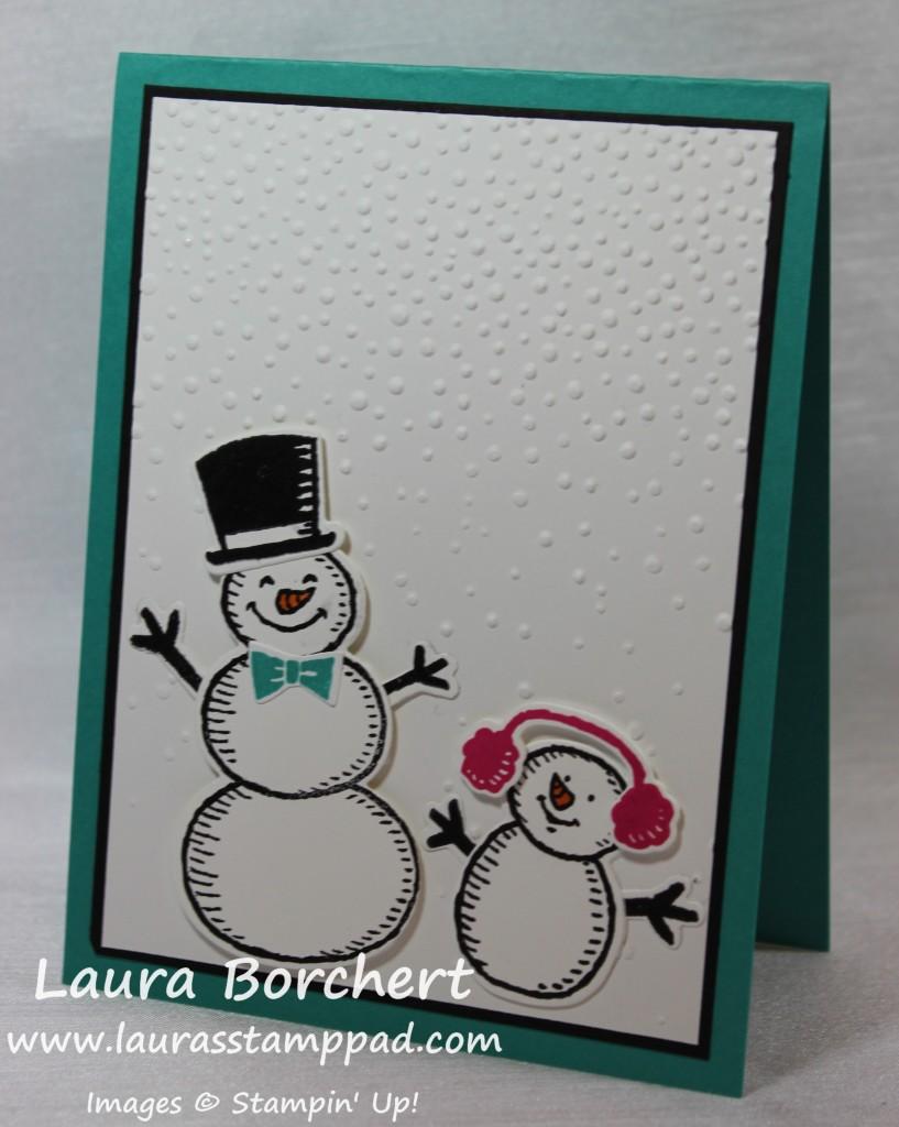 Snow Friends, www.LaurasStampPad.com