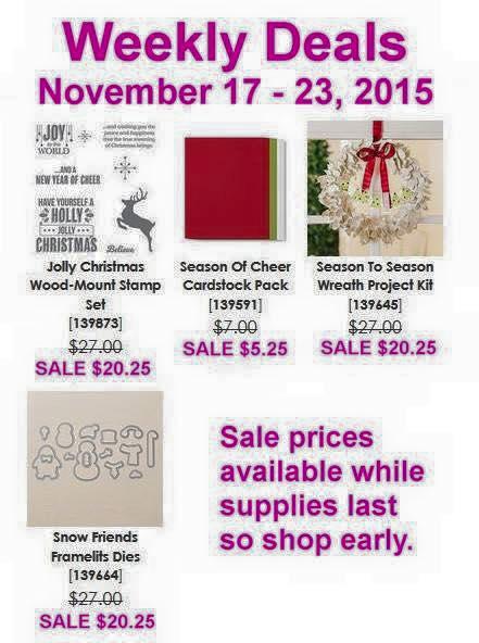 Weekly Deals 11.17