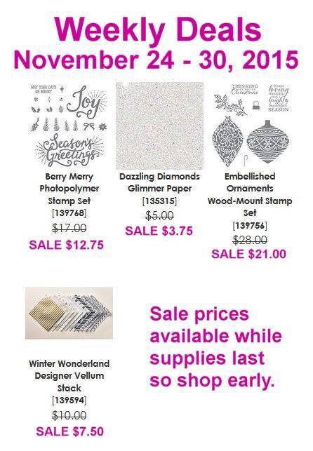Weekly Deals 11.24