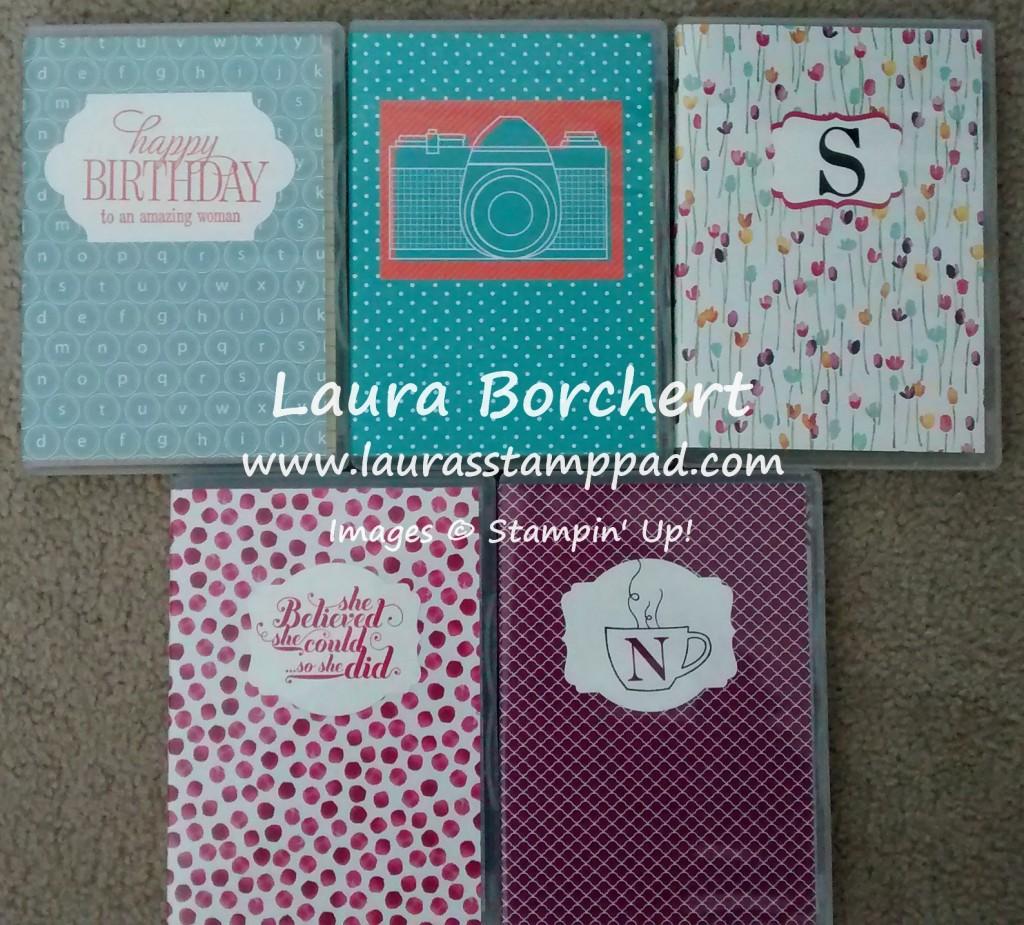 Monogram Notepads, www.LaurasStampPad.com