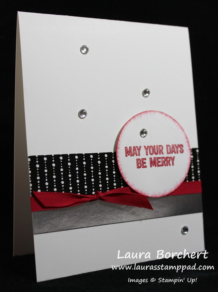 Days Be Merry, www.LaurasStampPad.com