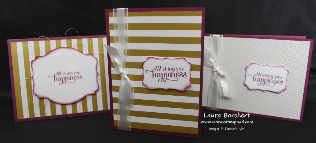 Golden Aniversary, www.LaurasStampPad.com