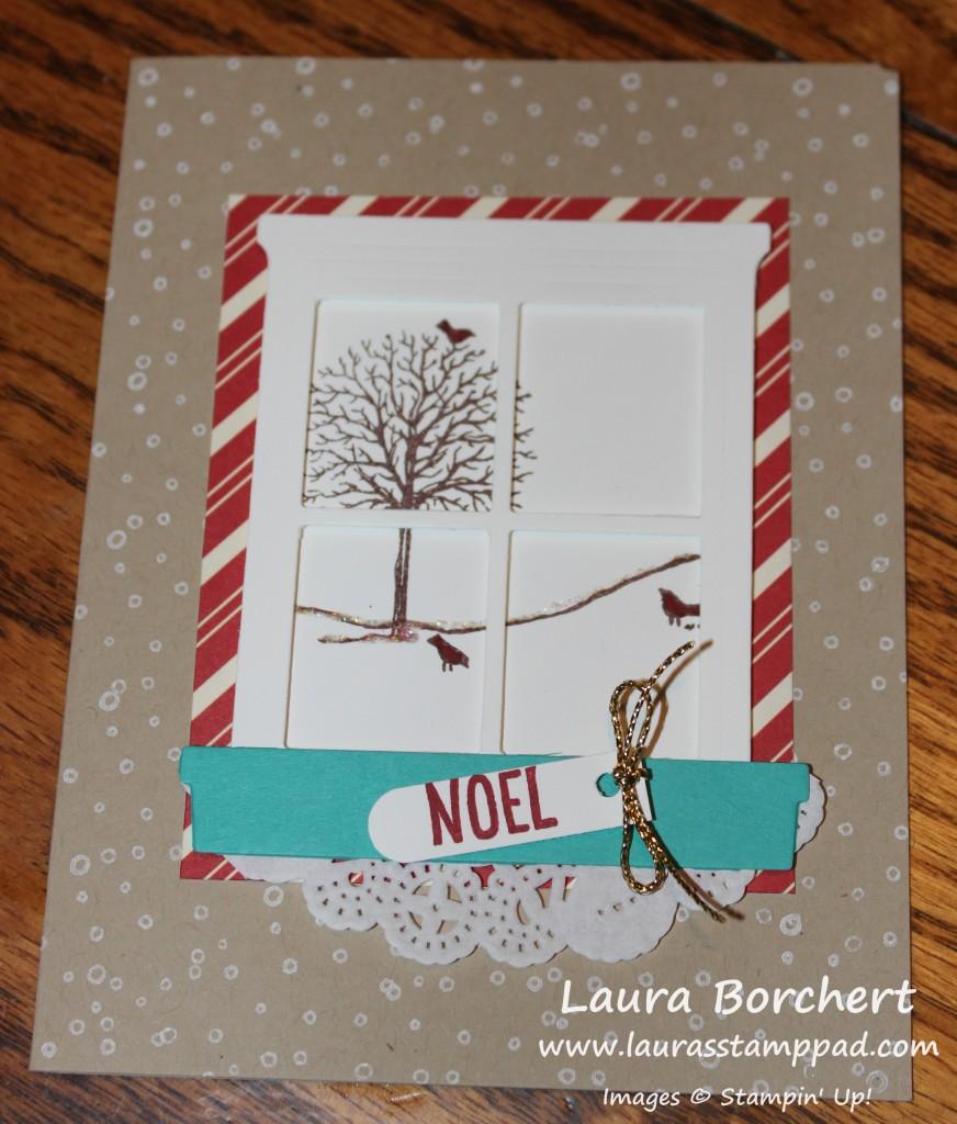 Mom's Christmas Card, www.LaurasStampPad.com