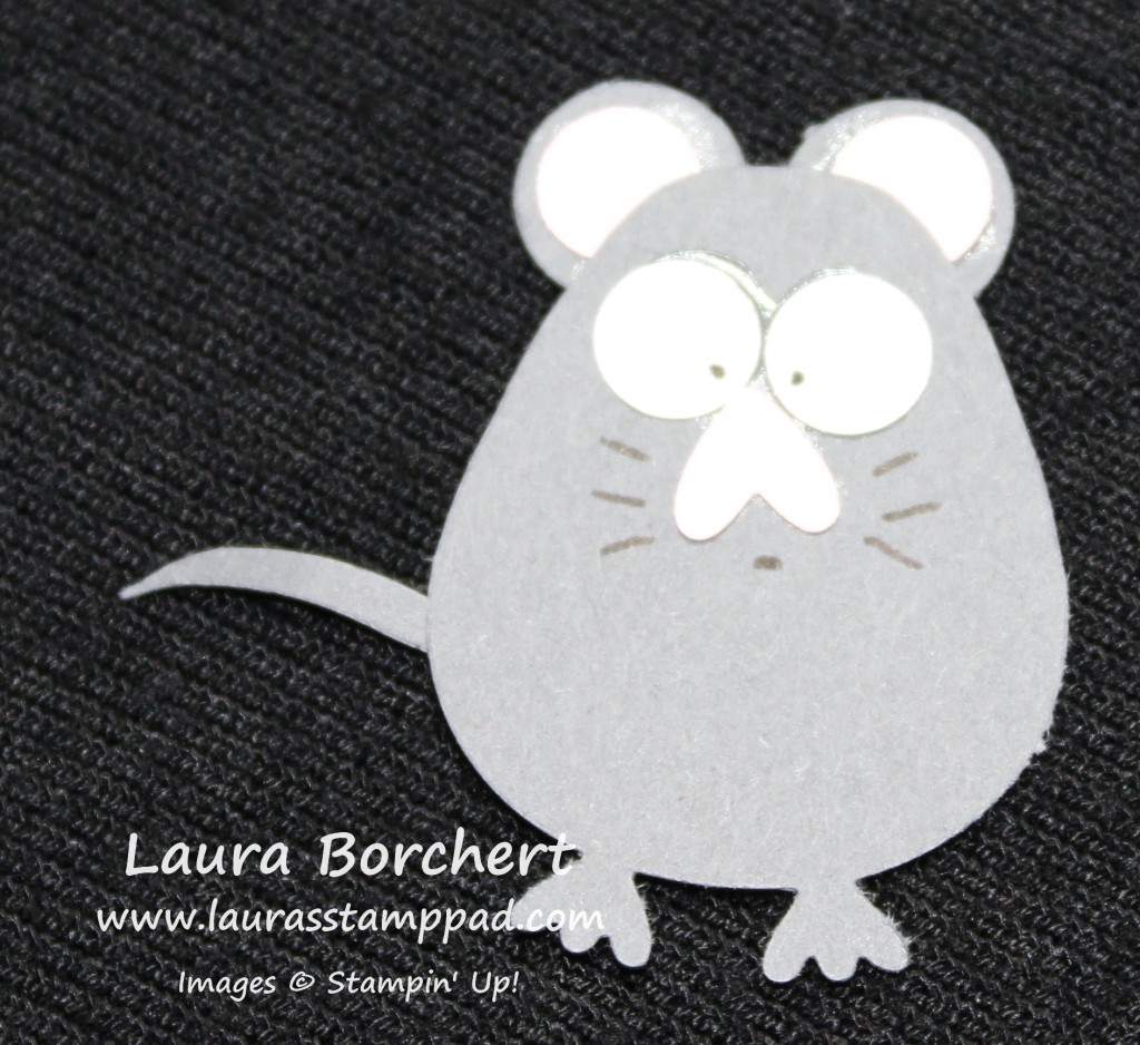Mouse Punch Art, www.LaurasStampPad.com