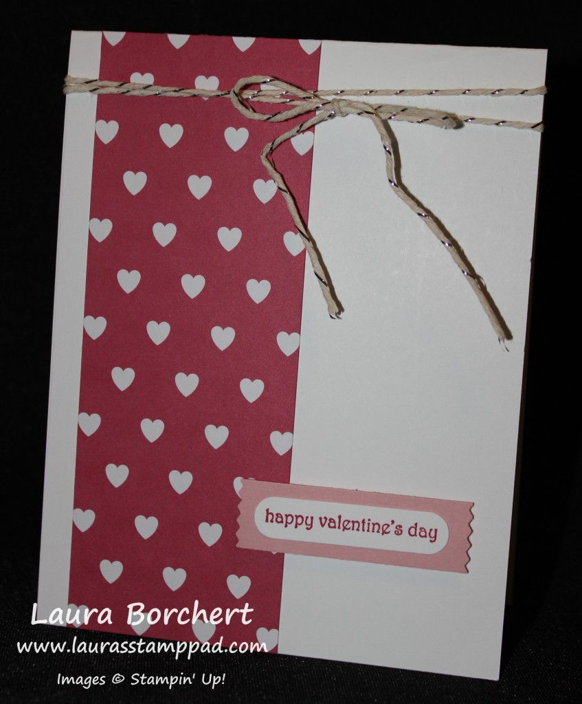 Valentine's Day, www.LaurasStampPad.com