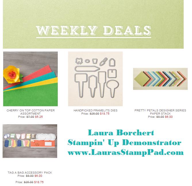 Weekly Deals 12.15