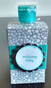 Decorated Anti-bacterial Gel, www.LaurasStampPad.com