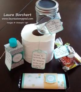 Baby Gift, www.LaurasStampPad.com
