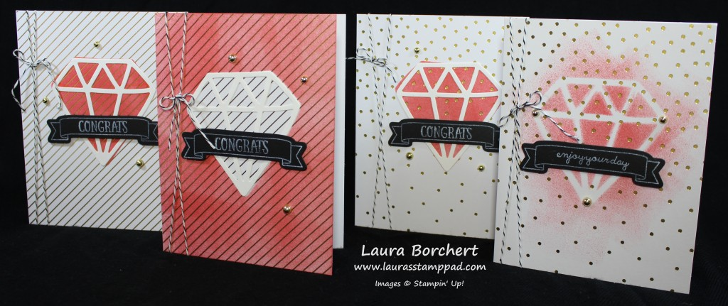 Diamonds are a Girls Best Friend, www.LaurasStampPad.com