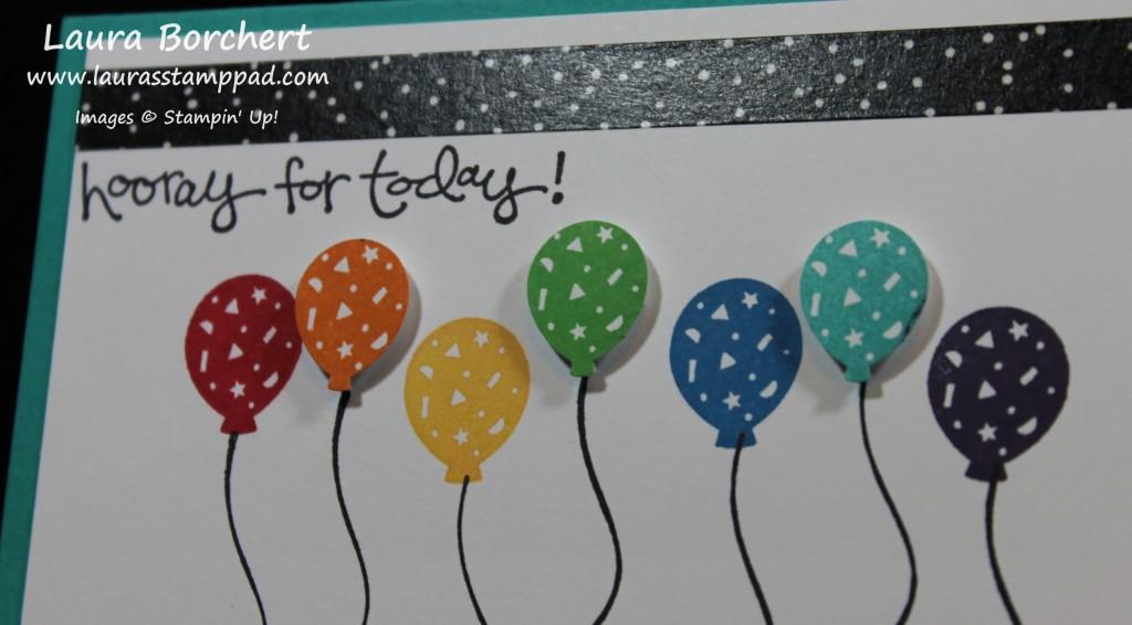 Balloons, www.LaurasStampPad.com