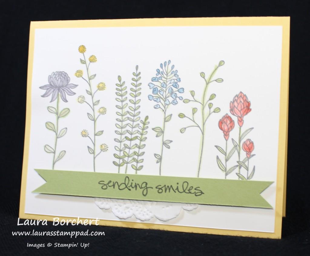 Sending Smiles, www.LaurasStampPad.com
