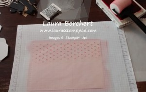 Treat Bag In Action, www.LaurasStampPad.com