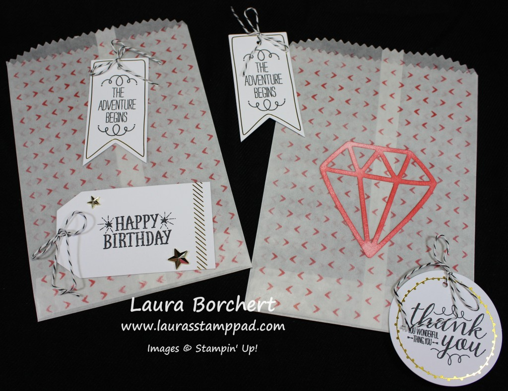 Treat Bags, www.LaurasStampPad.com