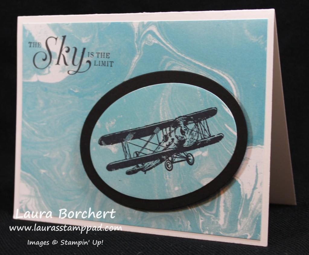 Airplane Stamp, www.LaurasStampPad.com