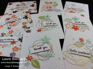 Hello Sunshine Craft Kit, www.LaurasStampPad.com